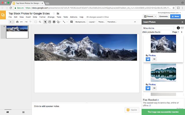 top stock photos for google slides g suite marketplace