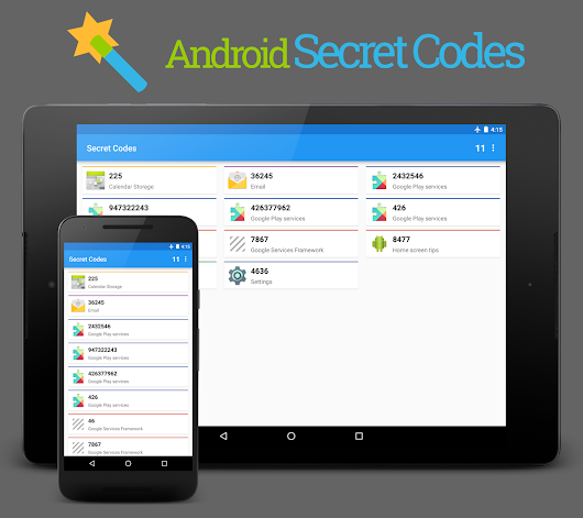 Secret Codes - Android Apps on Google Play