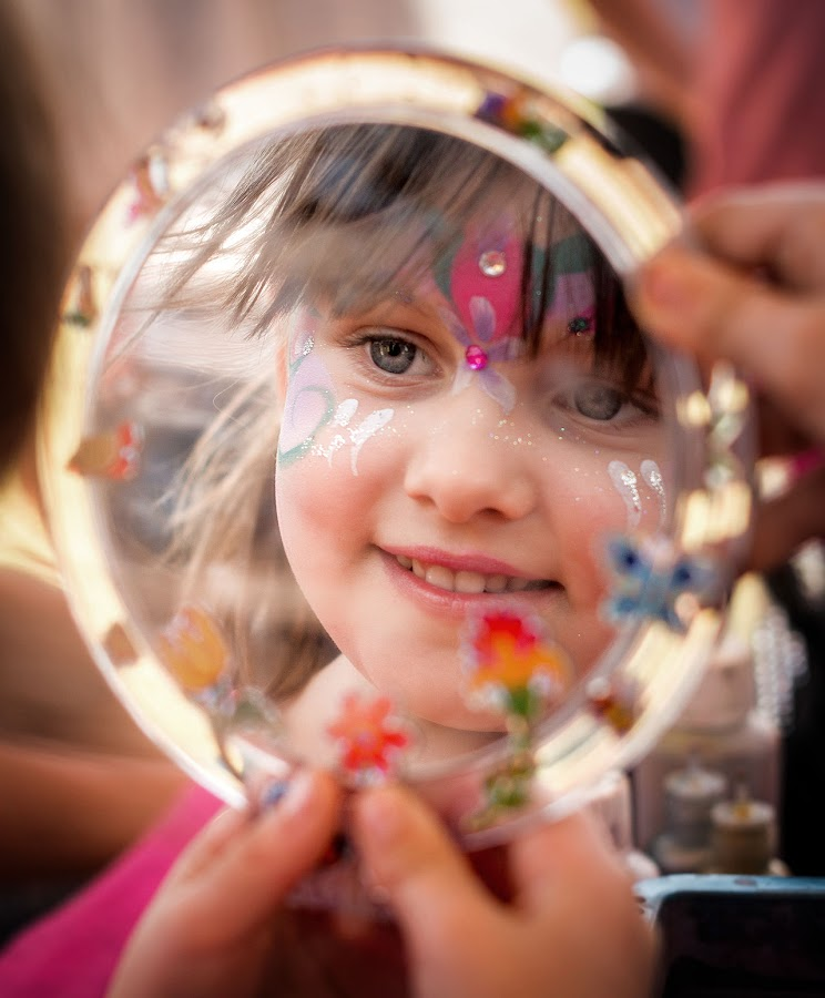 Birthday Facepainting by Steve Chilton - Babies & Children Children Candids ( birthday, children candids, fun, party, face painting,  )