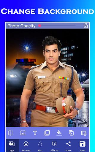 Men Police Suit Photo Editor 2020 1.0.17 screenshots 4