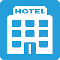 Find cheap hotels icon