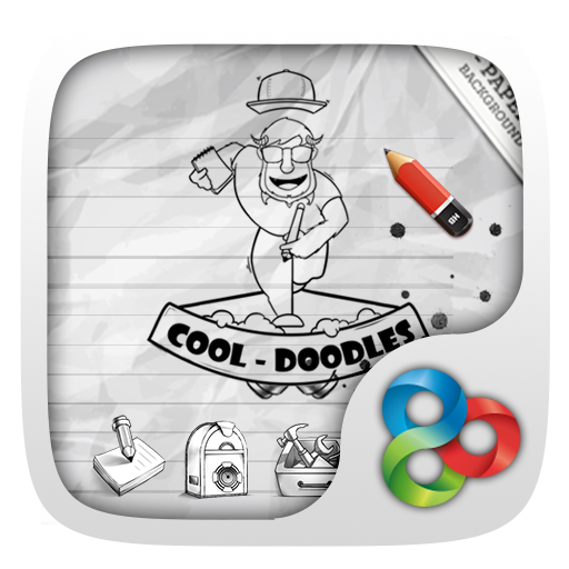 Doodles GO Launcher Theme 個人化 App LOGO-APP開箱王