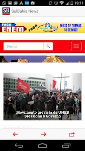 Sul Bahia News screenshot 1