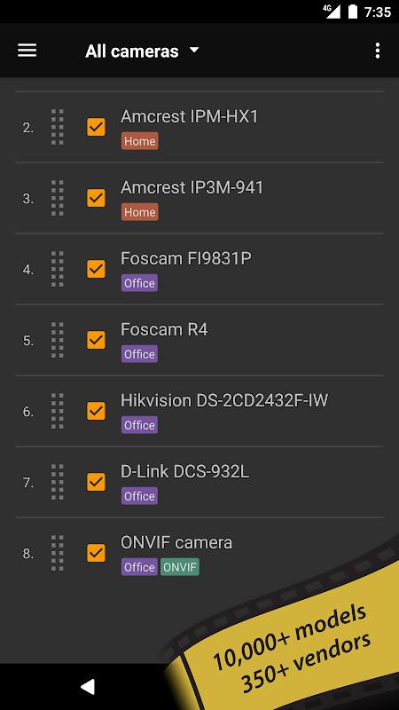 tinyCam Monitor FREE - IP camera viewer screenshots