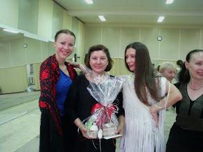 Photo: My -Magda i Małgorzata- z naszą profesora de baile profesional Milagros Mengibar