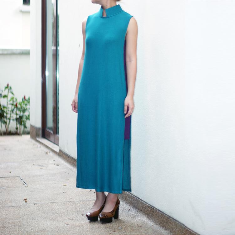 Qi Maxi Dress Green by STH Creative S/B