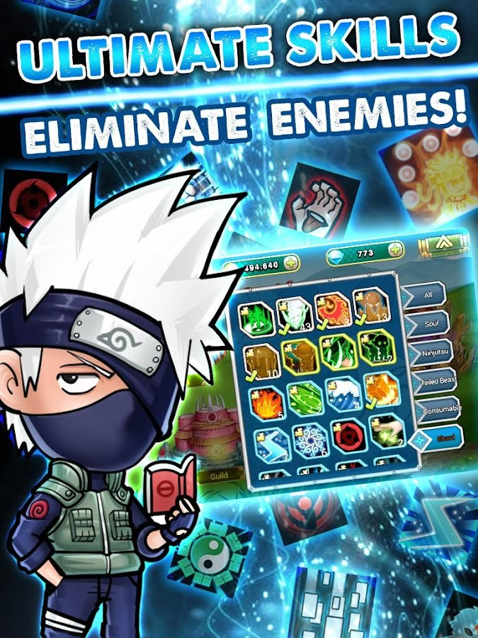 Screenshots of Ninja Rebirth - Monster Legend for iPhone