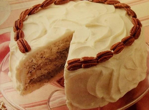 Coconut - Filled Nut Torte Recipe