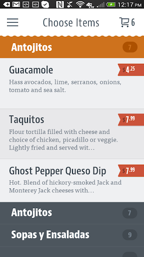 tapatio mexican grill screenshot 3