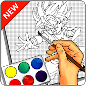 Learn to draw DBZ Characters