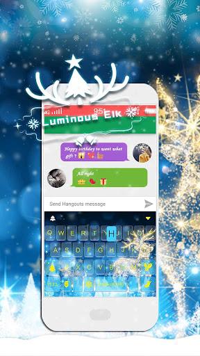 Luminous Elk Kika Keyboard Screenshot
