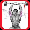 Home fitness program icon