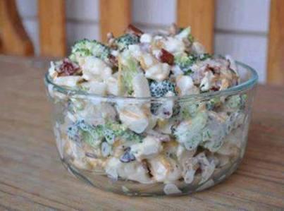 Amish Broccoli Salad Recipe