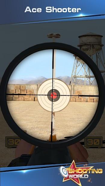 Shooting World - Gun Fire Android App Screenshot