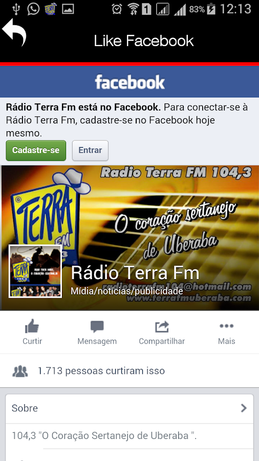 Radio Terra FM- screenshot