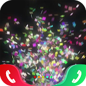 Colorful Papers Caller Screen Icon