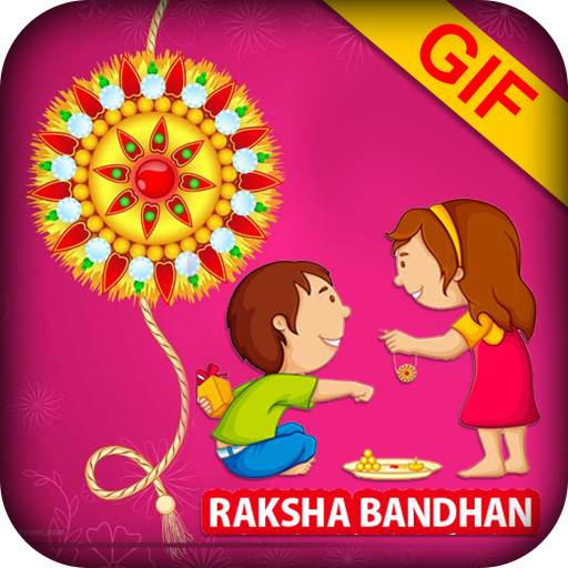 Rakhi GIF Collection 2017 - Rakshabhandhan GIF app (apk) free download for Android/PC/Windows