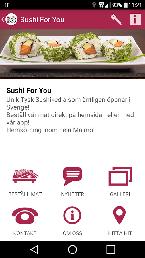Sushi For You- screenshot