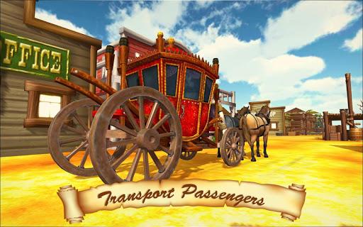 Horse Taxi City Transport: Horse Riding Games painmod.com screenshots 1