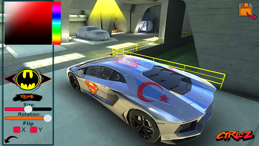 Aventador Drift Simulator 1.0 screenshots 2