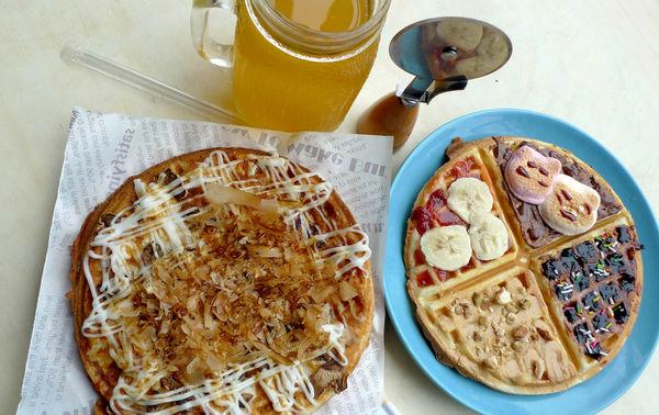 Oh!Mia歐米芽鬆餅屋,充滿愛心的下午茶甜點!