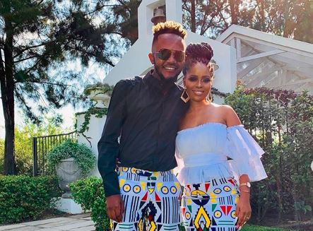 Kwesta and Yolanda had a gender reveal at the weekend.
