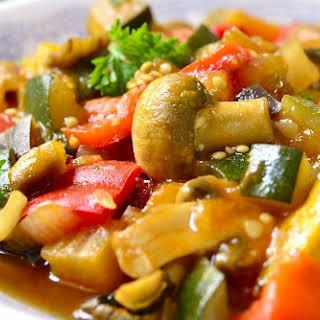 Eggplant Stew.