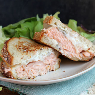 The Best Salmon Melt.