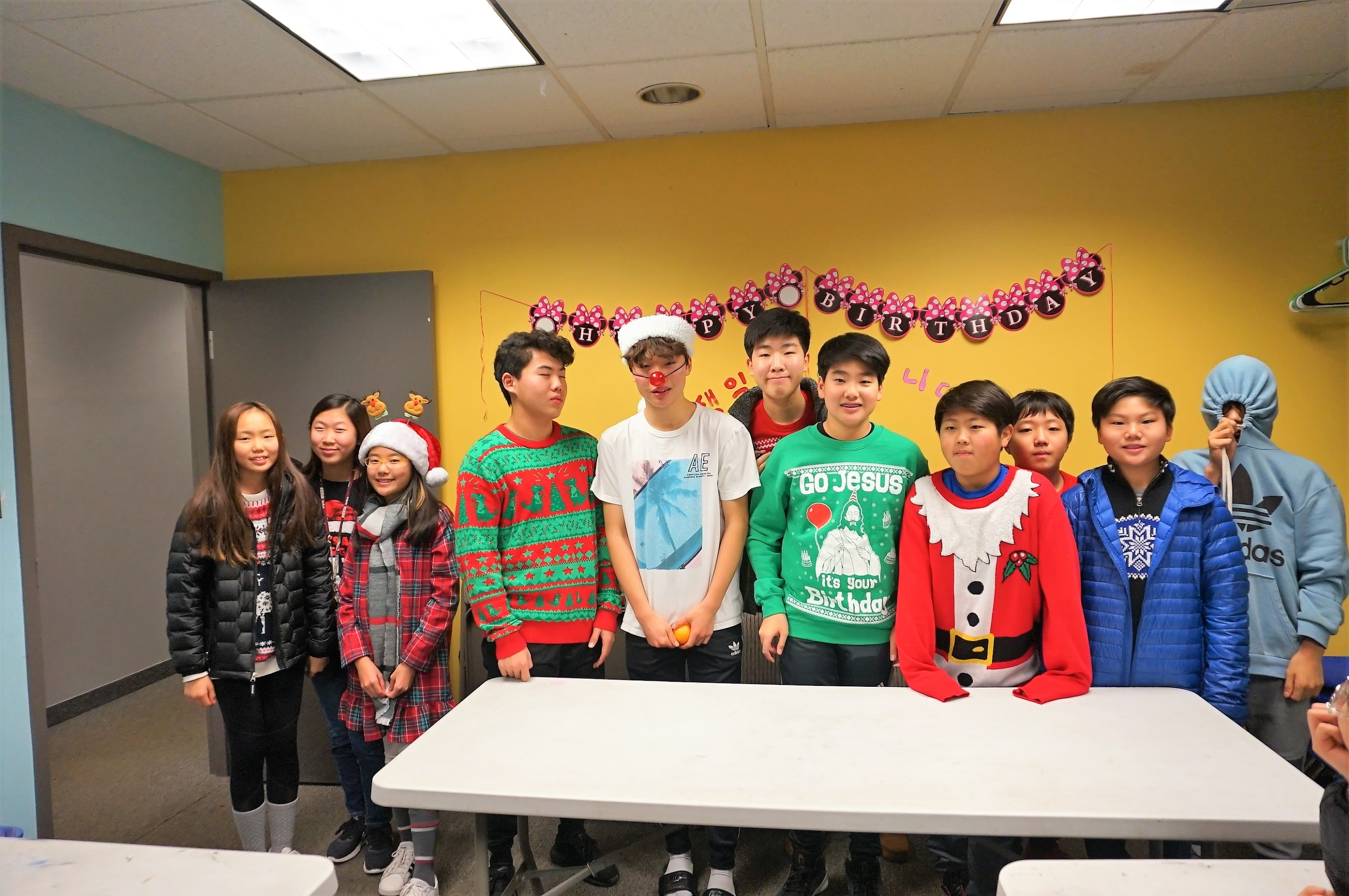 Christmas Party (CM & YM)