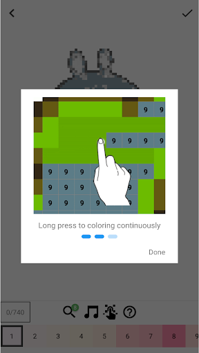 BTS Pixel Art - Free Paint Number Coloring Books  screenshots 5