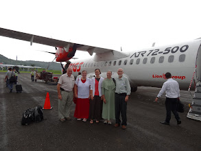 Photo: Themorning after we arrived in Medanwe flew to Nias island (Binaka Airport Nias).