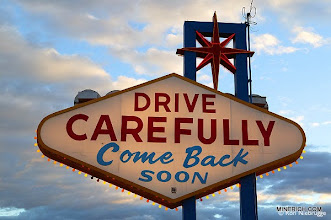 Photo: Welcome sign, Las Vegas, Nevada.