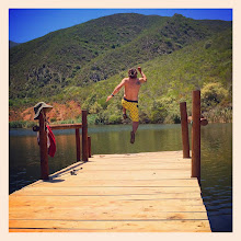 Photo: Jumping off the jetty