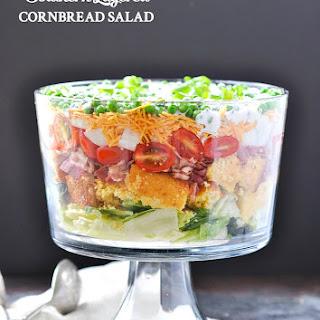 Southern Layered Cornbread Salad.