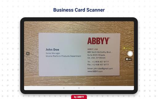 Business Card Reader - Business Card Scanner 4.25.1.2 screenshots 6