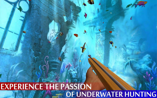 Spearfishing Wild Shark Hunter - Fishing game apkpoly screenshots 13