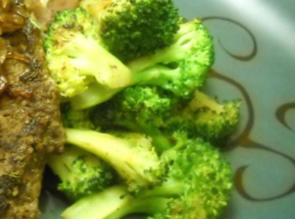 Pan Roasted Broccoli Recipe