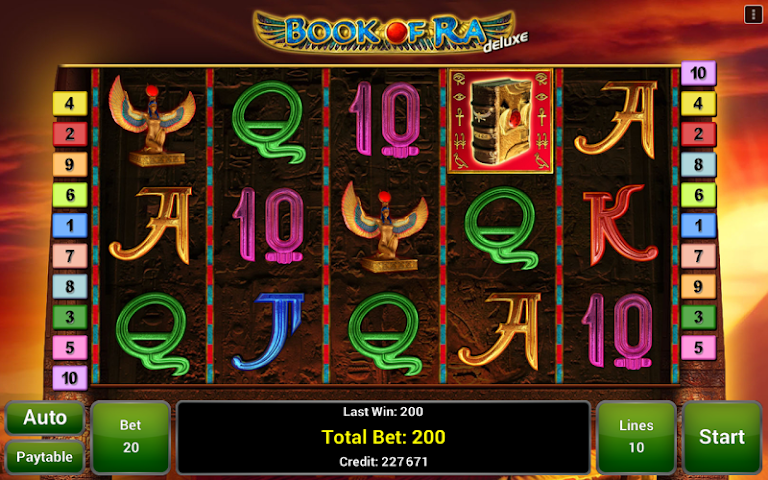 android Book of Ra™ Deluxe Slot Screenshot 0