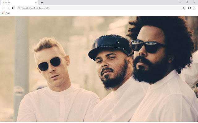 Major Lazer New Tab & Wallpapers Collection