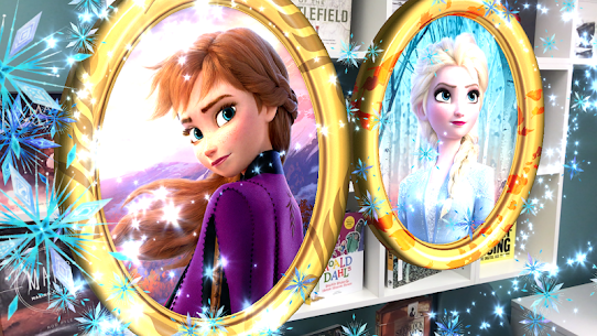Frozen Book with Digital Magic 1