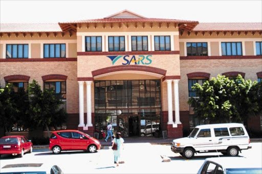 The SARS building in Randburg. Picture:TYRONE ARTHUR