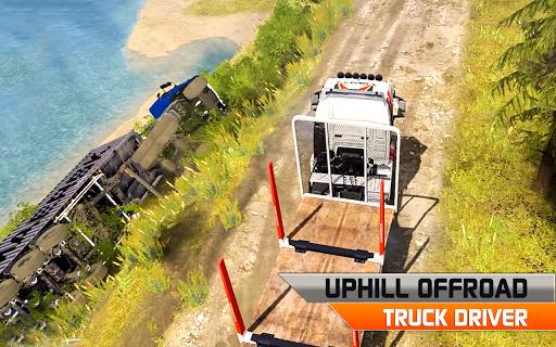 Offroad truck driver 4X4 cargo truck Drive 3D 1.0.8 screenshots 5