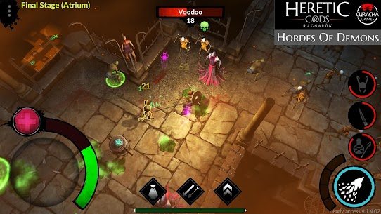 HERETIC GODS Mod Apk 1.11.09 (Unlimited Money + Unlocked) 1