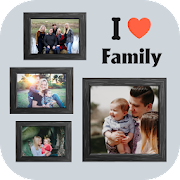 Family photo editor - picture frames