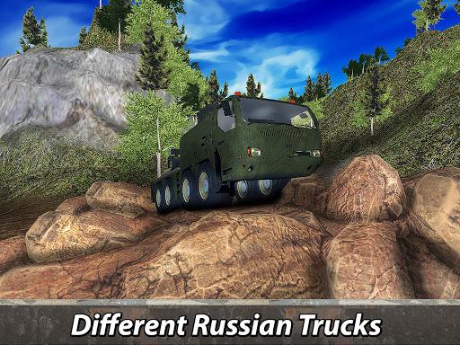 ud83cuddf7ud83cuddfaud83dude9bRussian Truck 6x6: Offroad Driving Simulator android2mod screenshots 8