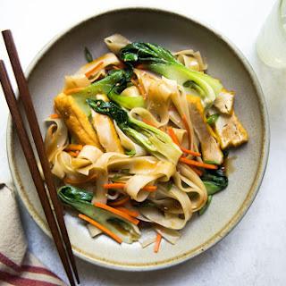 Teriyaki Noodle Stir Fry (Vegan).