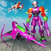 Jet Robot Transforming Fights: Fighting Revolution