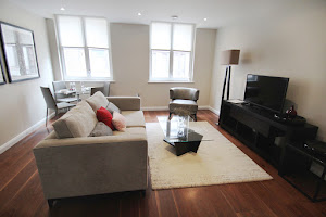 chancery lane apartment living room