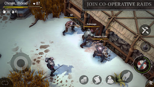 Frostborn: Coop Survival apkmartins screenshots 1