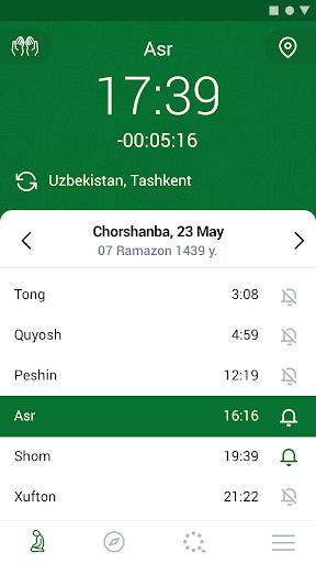 Islom. Namoz. Ramazon. 3.1.2 screenshots 1